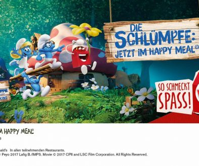 Schlümpfe Happy Meal